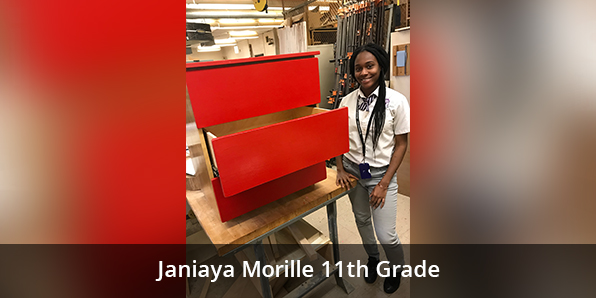Janiaya Morille 11th Grade